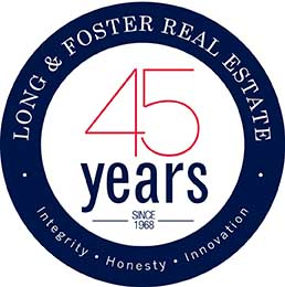 Long & Foster's 45th Anniversary Logo