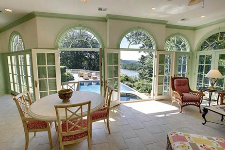 Riverview Manor Pool House photo