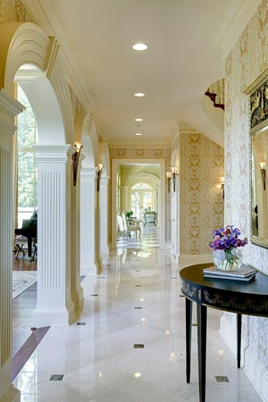 Riverview Manor Hallway Arches photo