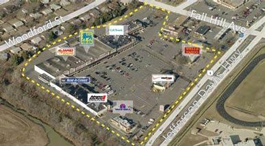 Arial Photo of Fredericksburg Shopping Center