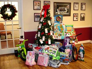 Ellicott City Salvation Army Angel Tree Gifts