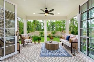 Biringer home patio photo