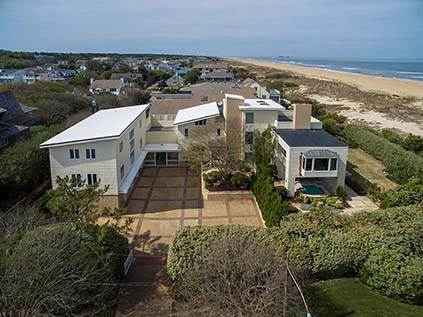 Aerial shot of 6300 Ocean Front Ave. Virginia Beach, VA