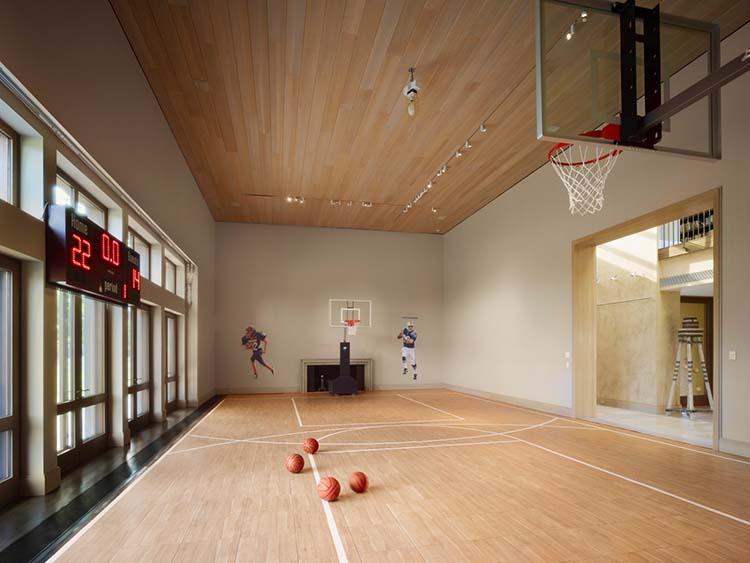 arbor hill basketball court