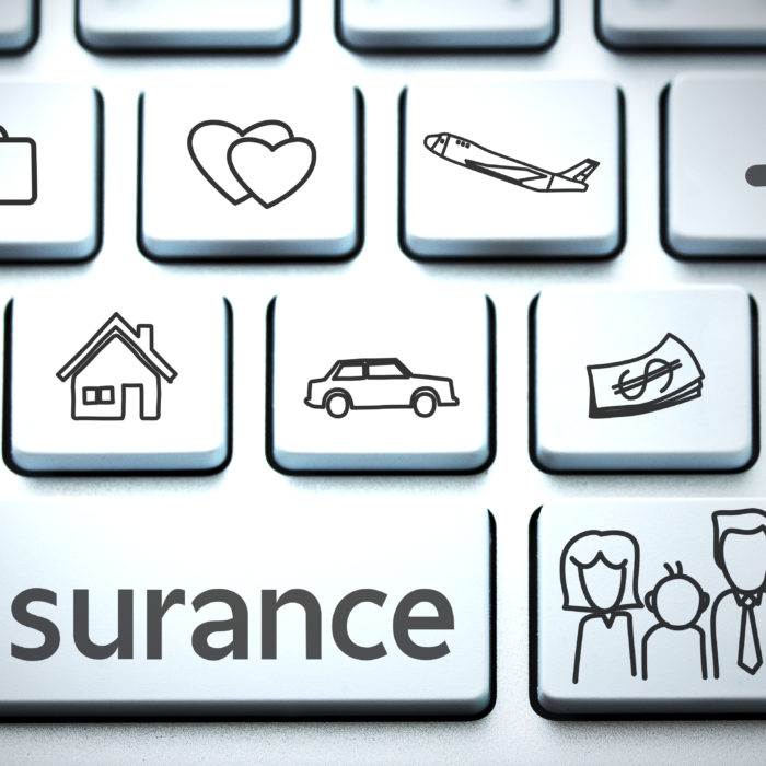 insurance keyboard image
