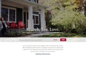 Long & Foster Real Estate Website