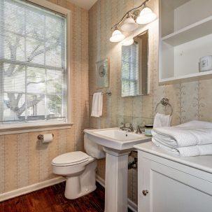 Bathroom, Volta Place, Georgetown, DC