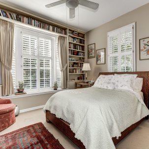 Bedroom 2, Volta Place, Georgetown, DC