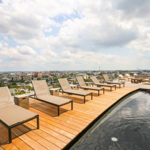 The Hepburn Rooftop Pool