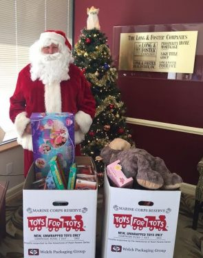 Toys for Tots Bel Air 2016