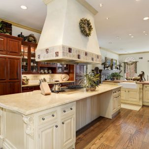 Manor Stone Drive Kitchen