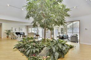 11005 Balantre Lane atrium