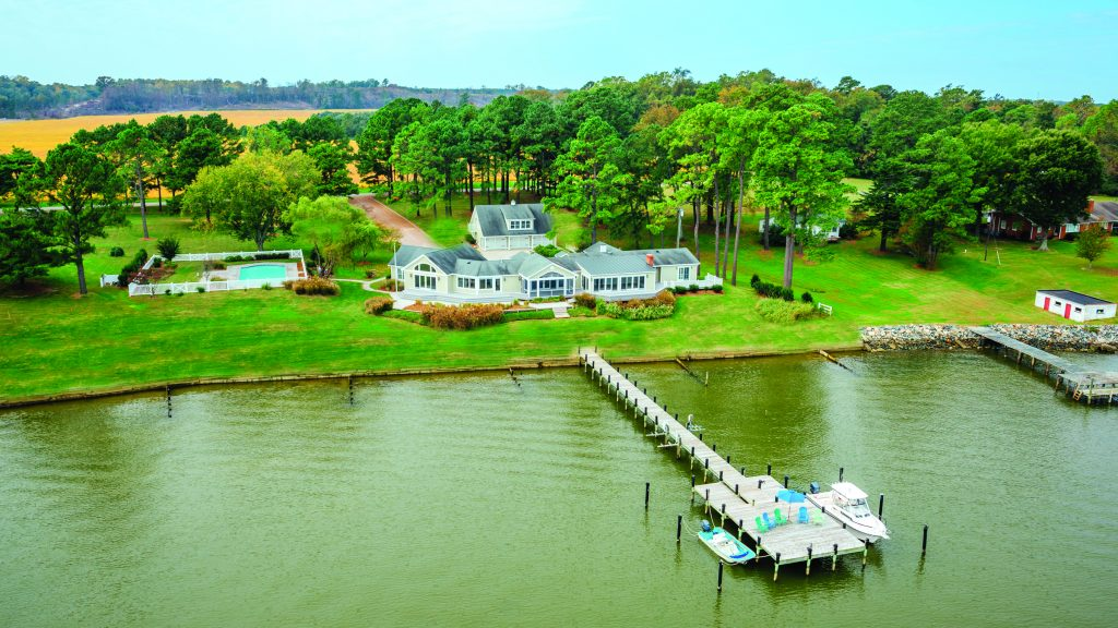 187 Catchpenny Lane, Tappahannock, VA is offered at $1,450,000 by Skipper Garrett of the Bay/River Sales Office