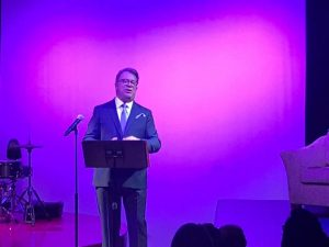 Robert B. Moss theatre speech