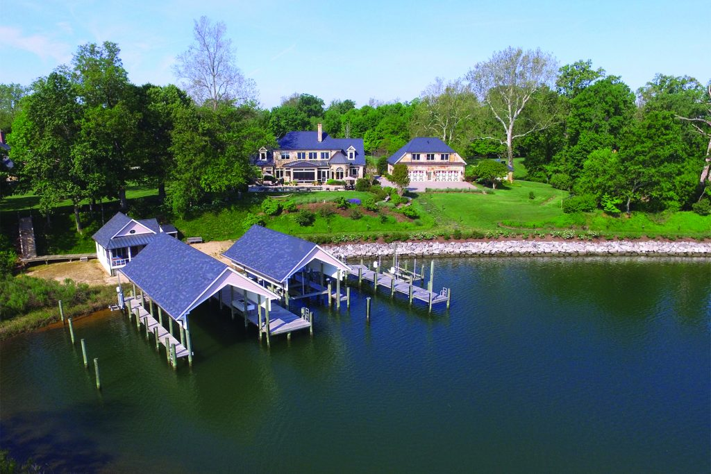 1441 Sharps Point Road, Annapolis, MD is offered at $5,999,999 by Charlie Buckley of the Annapolis Sales Office