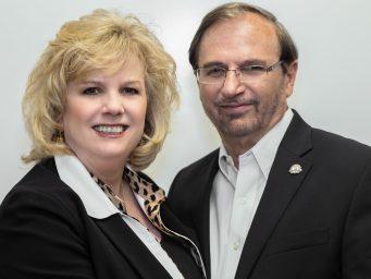 Vickie Zevgolis and Larry Lewis