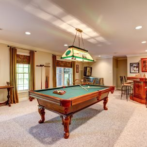Dalmore Drive game room