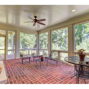 Screened-in porch of 311 Wickham Glen Drive