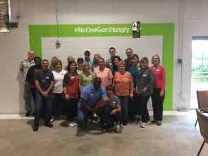 FM Realty Food Bank group photo