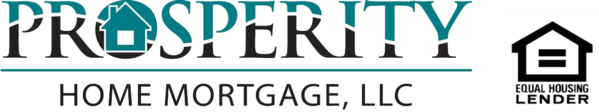 Prosperity Home Mortgage Logo with Equal Housing Lender Logo
