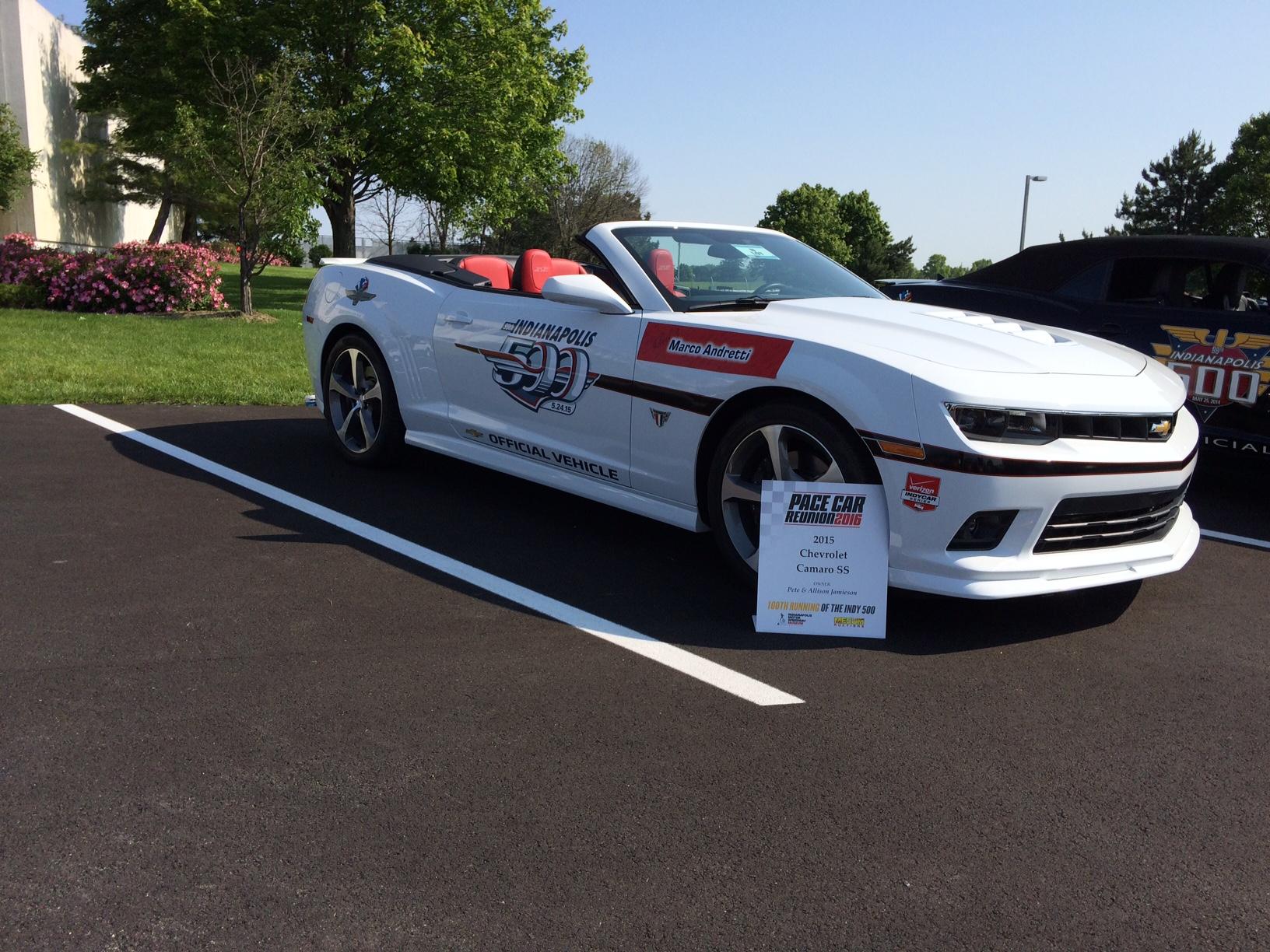 Stine Indy Car - Pace Car Reunion