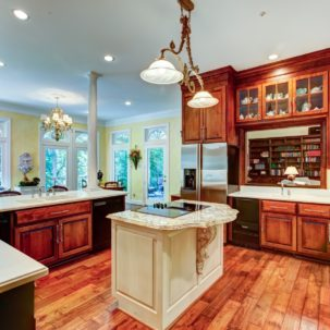 Kitchen at 209 Dryden Lane in Richmond