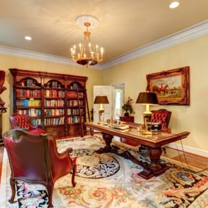Home Office at 209 Dryden Lane in Richmond