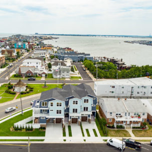 Longport Townhomes Aerial 2