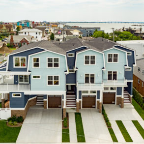 Longport Townhomes Aerial 1