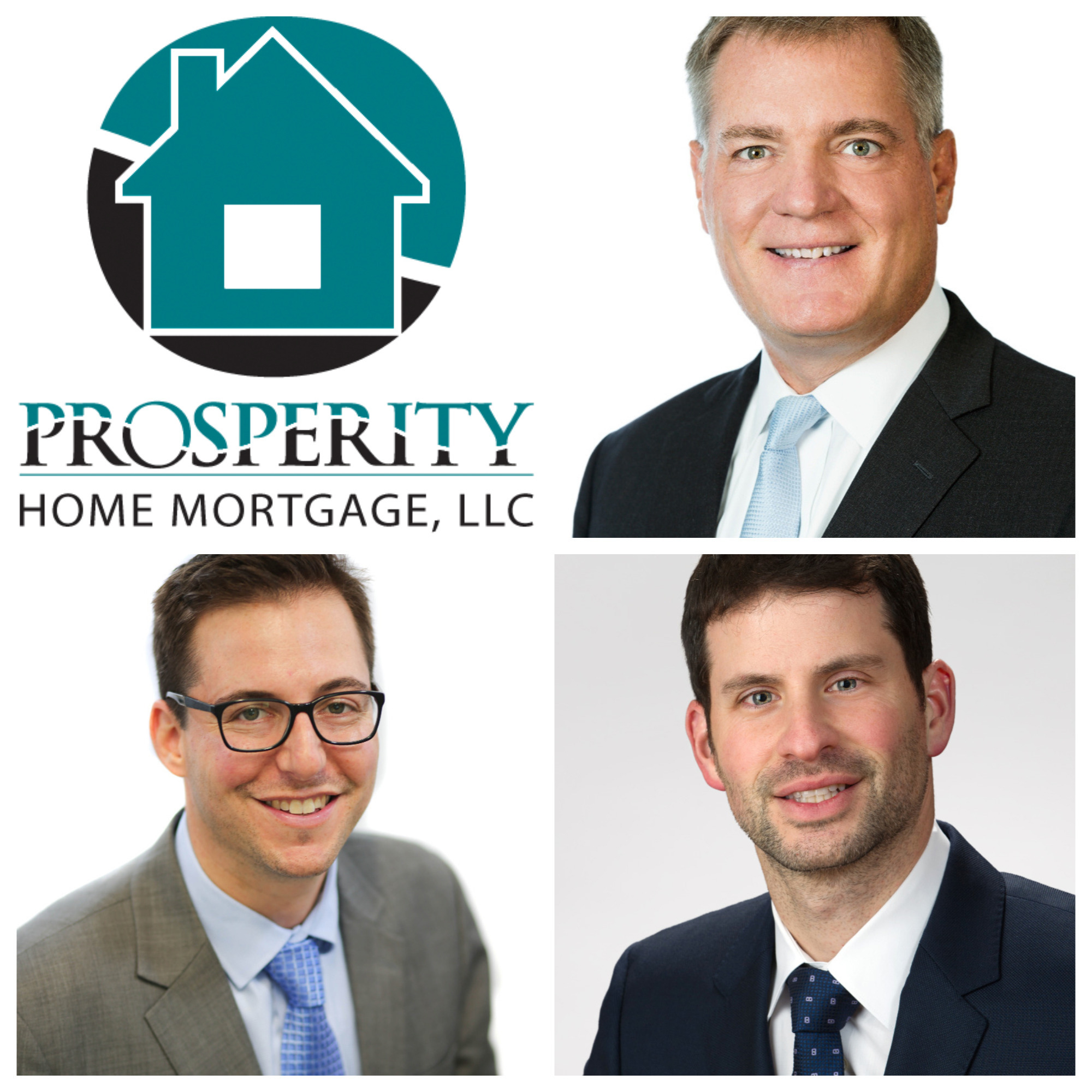 Clockwise, from top right, Thomas O'Keefe, Jody Eichenblatt and Jonathan Okun were named among the Top 200 Mortgage Originators in America.
