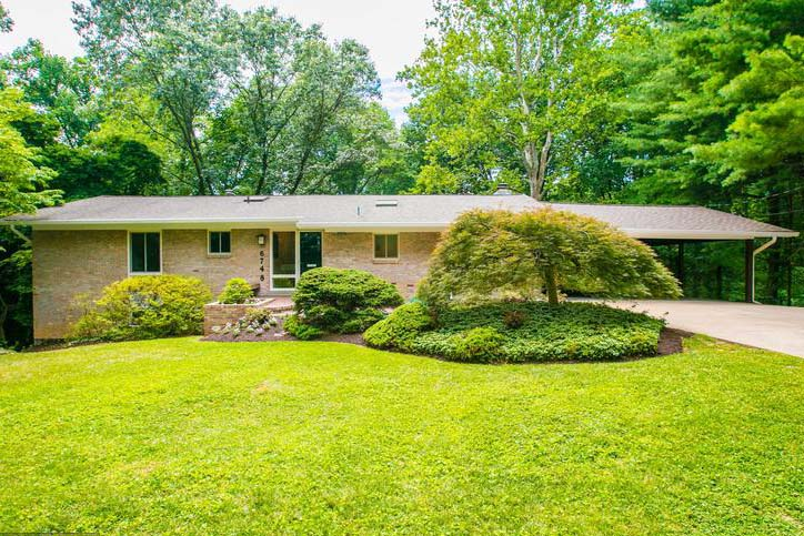 This 1969 Bethesda, Maryland, rambler was listed and sold by Sarah Funt, a Long & Foster agent based in Bethesda.