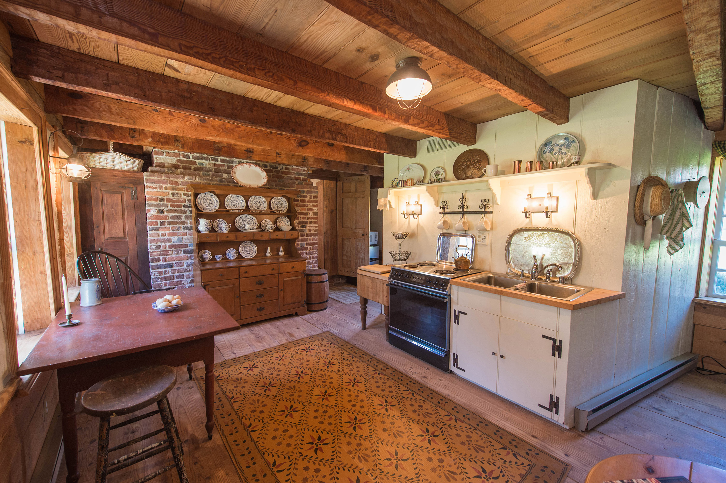 Kingston Hall Guest House Kitchen
