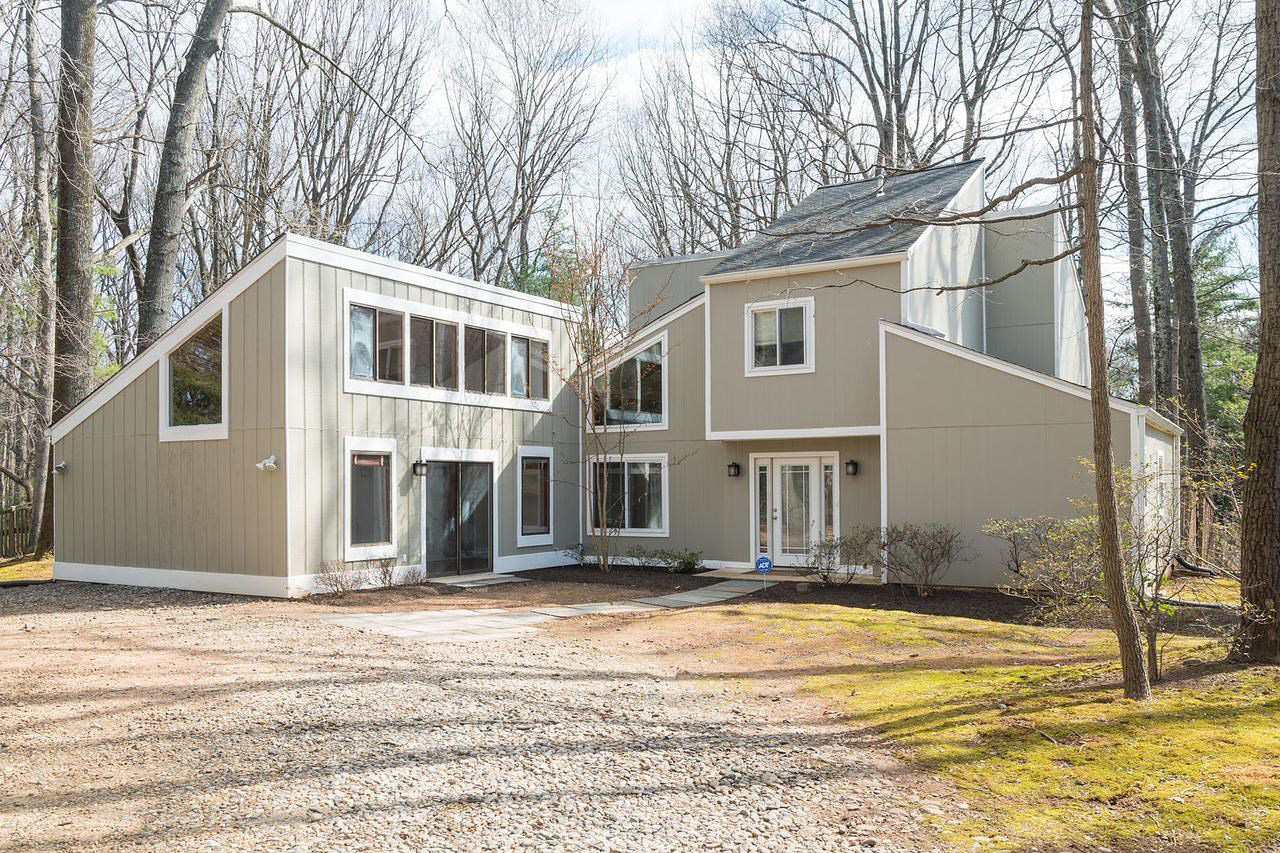 Built in 1973, this Contemporary-style home is listed by Long & Foster Agent David Aronheim.