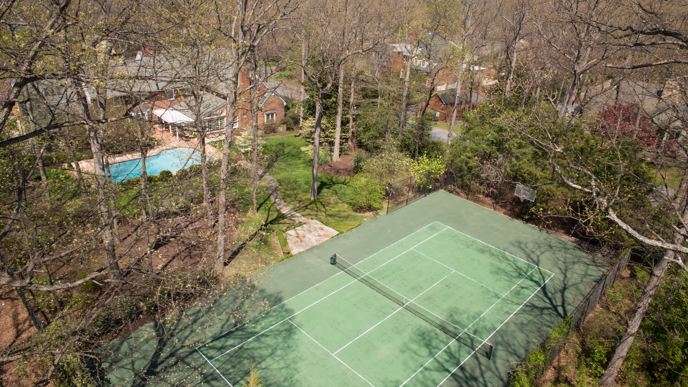 Tennis Court Available - 201 Cyril Lane