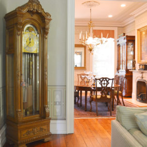 Formal Living & Dining Rooms - Mount Pleasant Ave