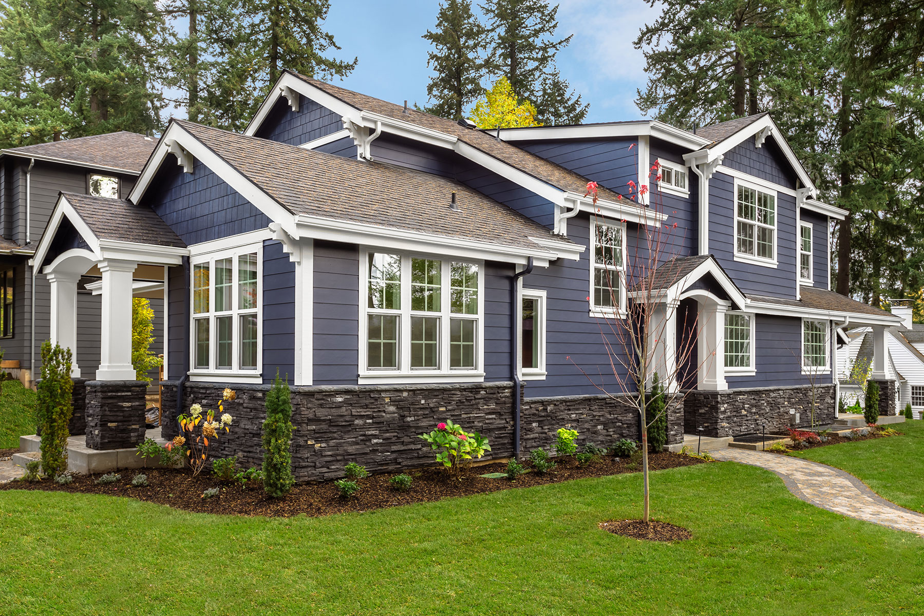 How Home Exteriors Have Changed In The Past 50 Years