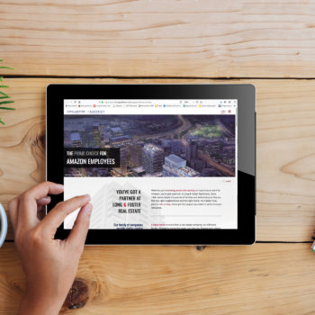Amazon Landing Page