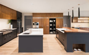 Two island trend in kitchens