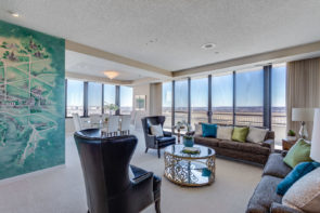 Luxury penthouse at 1300 Crystal Drive in Crystal City