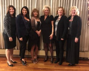 Left to right – Fay Fletcher, Jessica Lindsay, Deanna Denny, Patty Gates, Nancy Steinke, Vickie Zevgolis