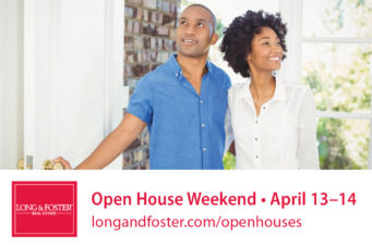 Long & Foster Spring Open House Weekend April 13-14