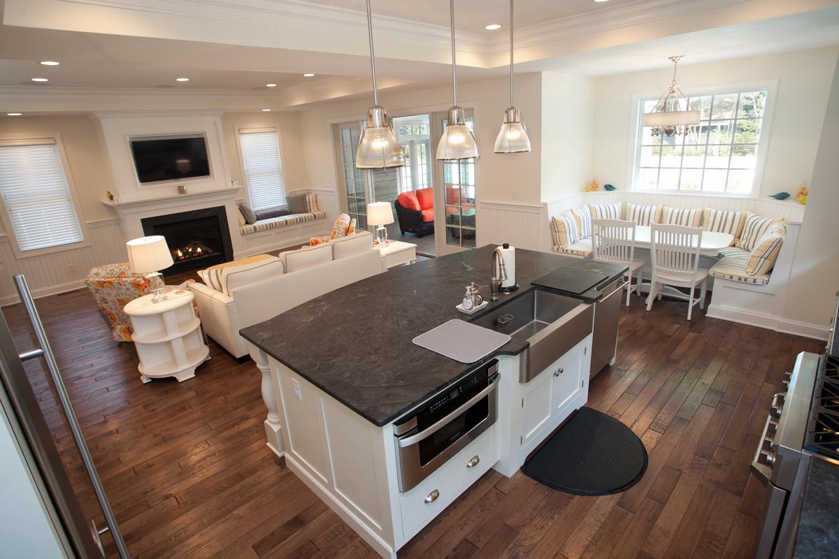 Great room of McGregor Custom Home