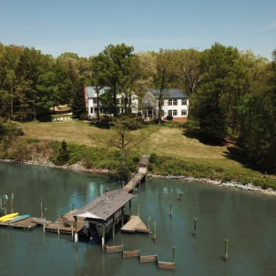 Charles City waterfront home