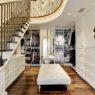 Two-story closet